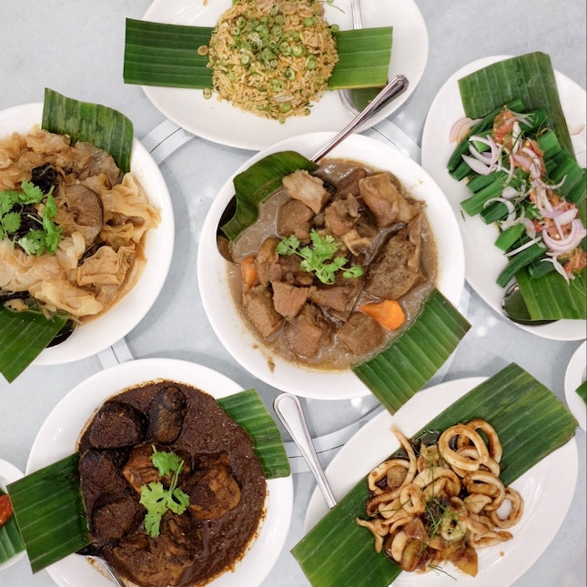 Peranakan Dishes [$104 for all pictured, feeds 5]