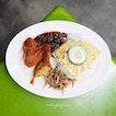 Nasi lemak ($6)