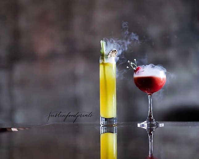 Bespoked Cocktails ($25++ to $30++).