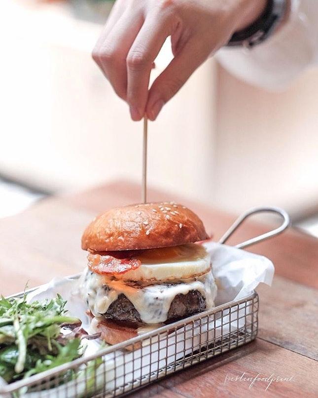 FTR Burger ($13).