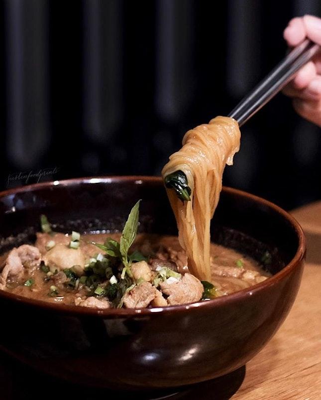 Thai Boat Noodles ($18).