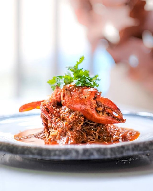 Chilli Crab Pasta ($34.90 nett).