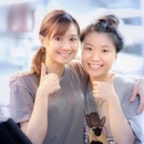 Young Hawkers of Jurong - Valarie and Veronica.