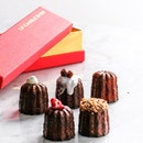 Gift Box of 5 Cocktail Canele ($20).