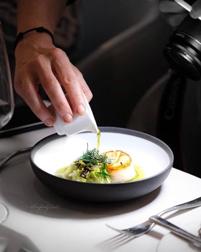 Hokkaido Scallop by Chef Tanja Grandits