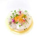 [New Menu] Hokkaido Scallop (first of 6 course menu at $158++).
