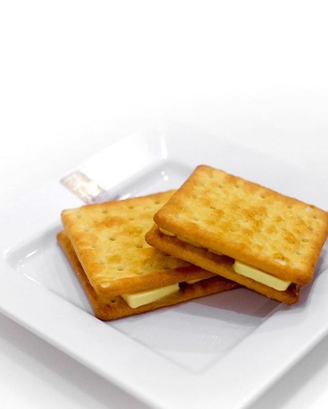 Kaya Butter Biscuit ($2).