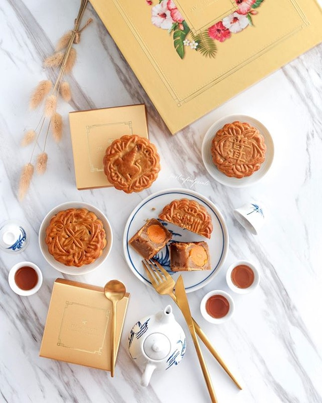 Baked Mooncakes ($74 to $82 for box of 4).