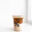 Iced Latte Single Origin ($9, +$1 for soy milk option).