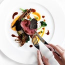 Angus Beef Tenderloin with Truffles (part of 4 course dinner menu at $198++).