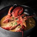 Laksa Lobster ($70).