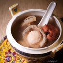 Double-Boiled Premium Delicacies Sea Treasure Supreme Soup (included in $2888++ CNY Harvest menu for 10 pax).