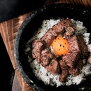 Wagyu Stone Pot Rice.