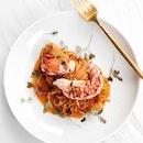 Tagliolini Lobster Pasta DIY ($38).
