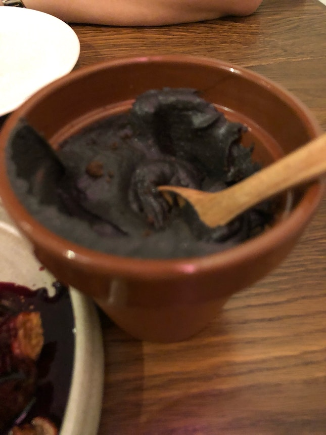 Mashed Squid Ink