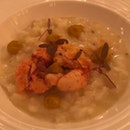 This is Crayfish, NOT Lobster Risotto as Advertised!