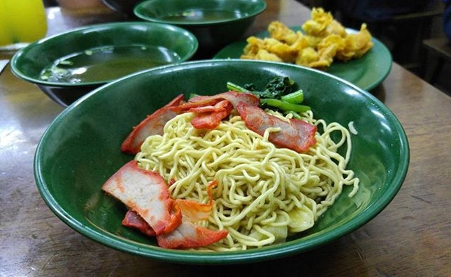 Our Favourite Place For A Good Wanton Mee Fix