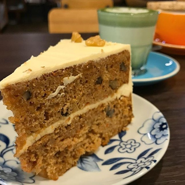 Enjoy your weekend with a carrot cake and a cuppa :)!