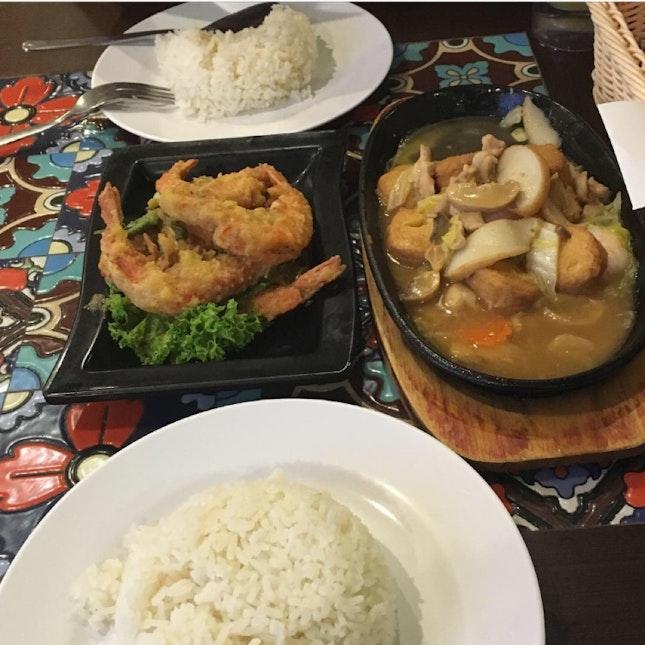 Halal food at chinatown