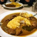 Mid-week late dinner comfort of Japanese curry.