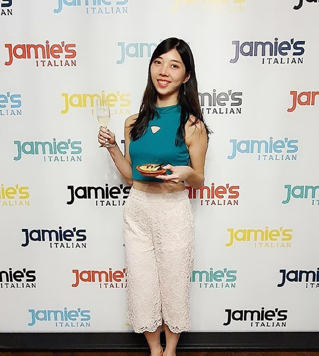Had a whale of a time @jamiesitaliansg where they launched their Christmas menus for groups starting from $35 per pax.