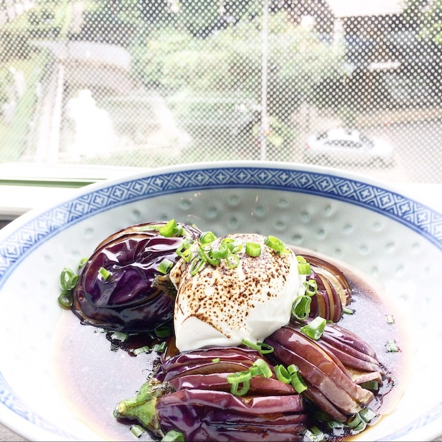 Baby Eggplants with Mascarpone