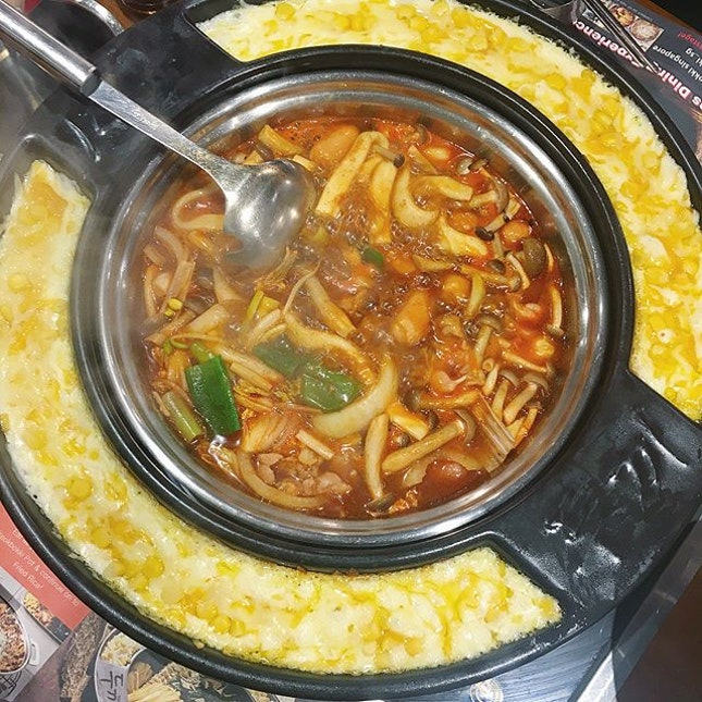 I understand dookki means 2 meals which consist of Korean hotpot and kimchi fried rice afterwards using the same sauce in the pot.