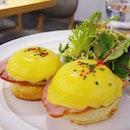 [Taiwan, Taipei🇹🇼] Best eggs benedict 😍💖 so glad that Sarabeth is in Taipei.
