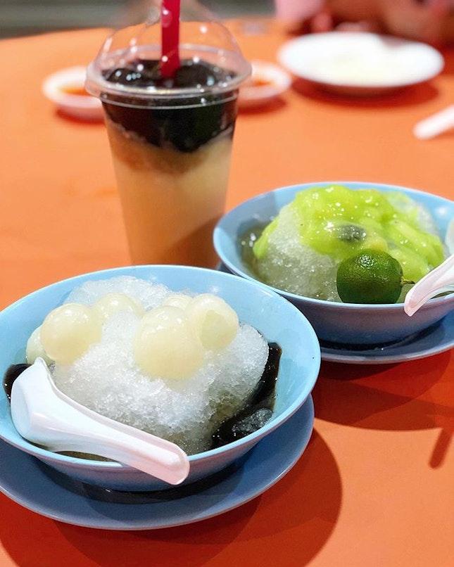 delicious soursop and desserts