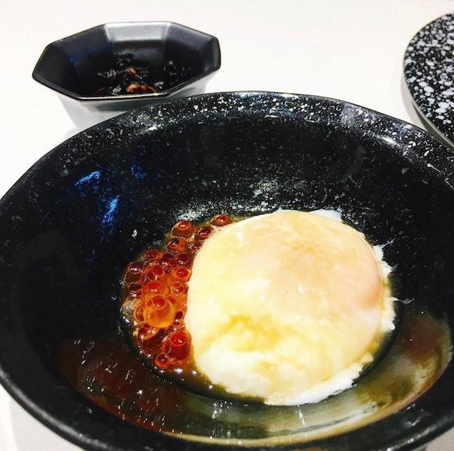 truffle onsen egg omg damn good