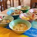 Boat noodle at $1.50 per bowl