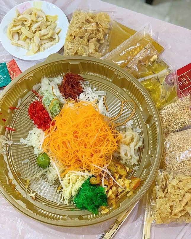 Happy Chinese New Year 🍊🍊favourite and a yearly must eat Abalone Yusheng from Paradise group #jxeatsrecommend #paradisegrpsg