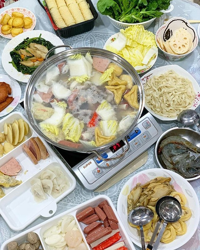 cny is not complete without steamboat.