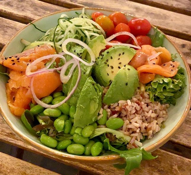 Smoked Salmon Salad ($8.50++)