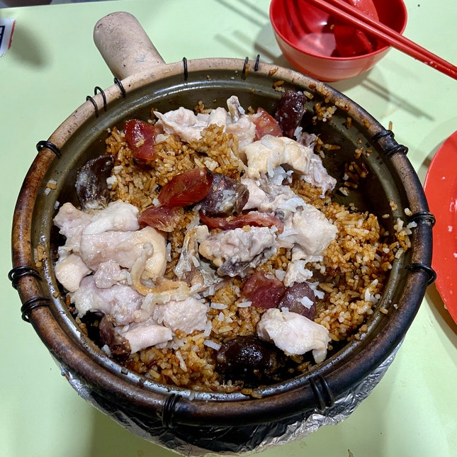 Claypot Rice (2pax) Add Ingredients ($20)