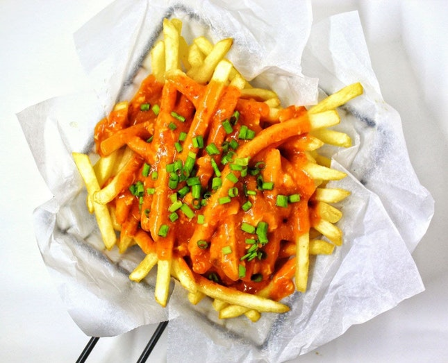 Chilli Crab Fries