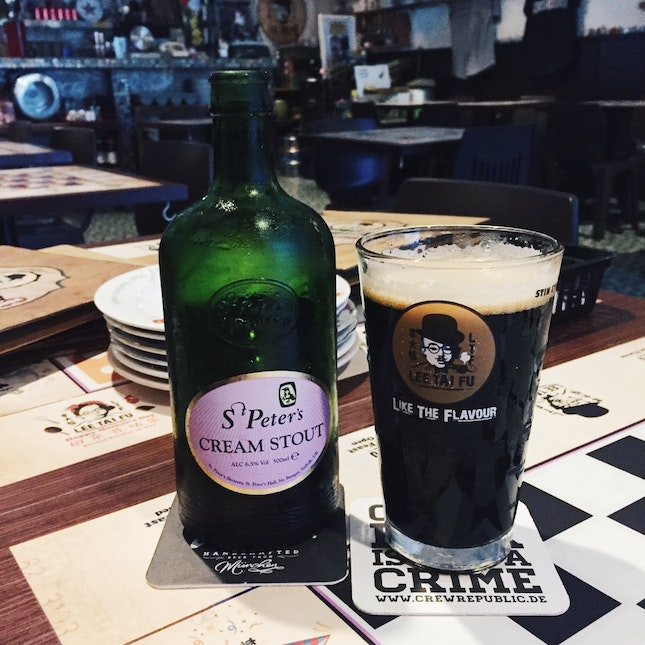 St Peter's Cream Stout ($17)