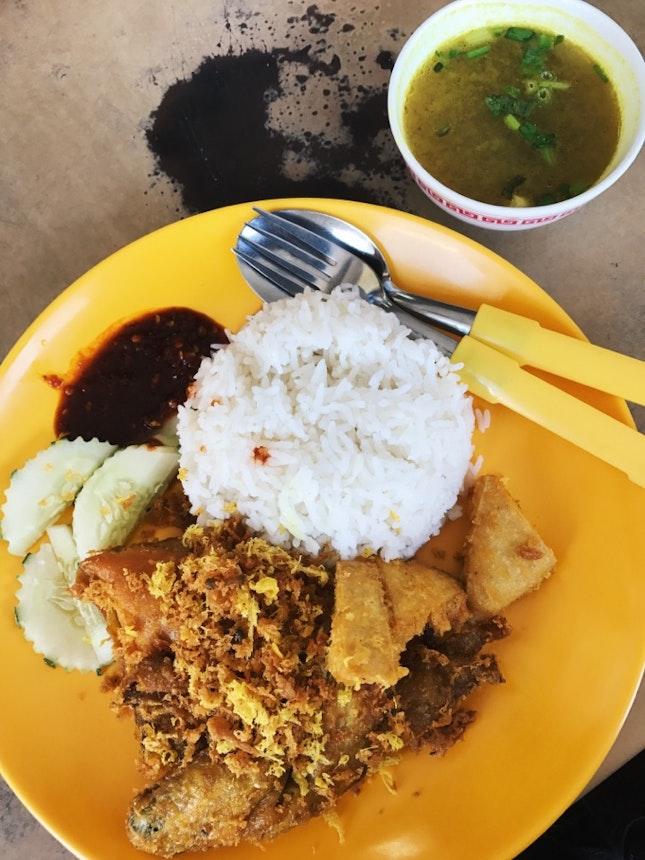 Ayam Penyet ($5.50)