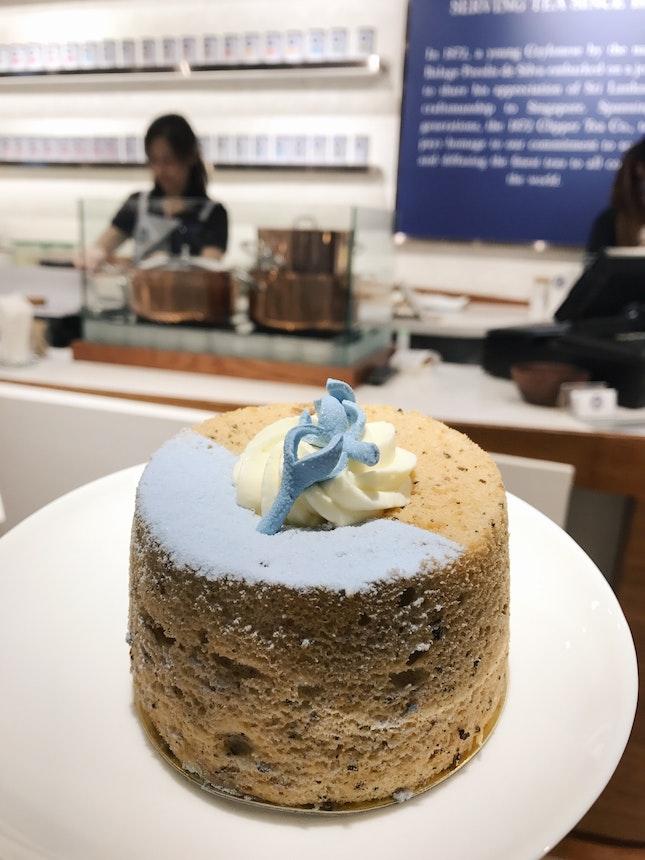 Earl Grey Chiffon Cake ($6.80)