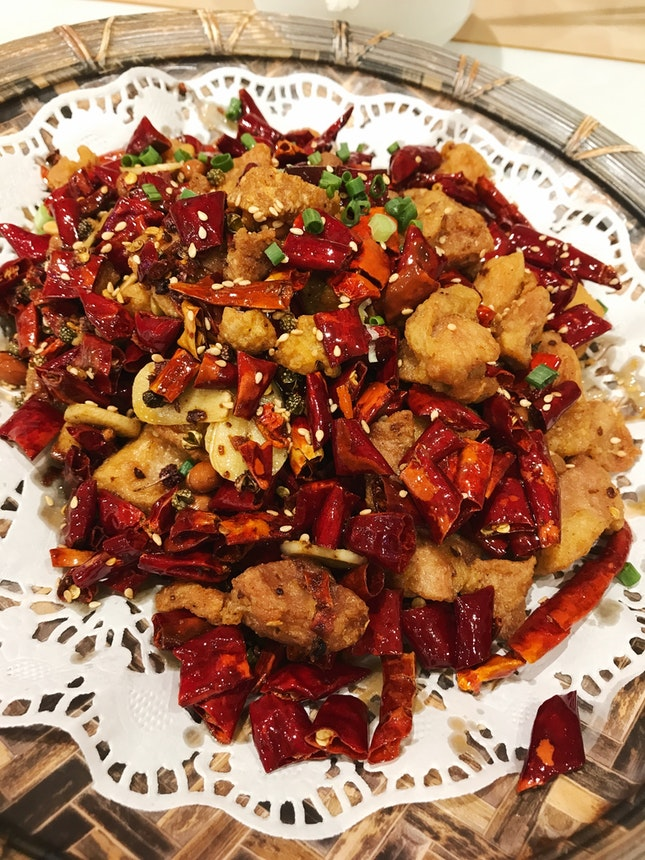 Chongqing Spicy Chicken 哥乐山辣子鸡