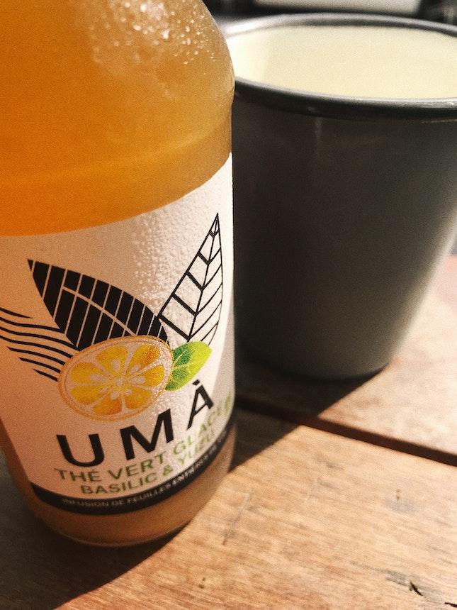 UMA Iced Green Tea ($9)