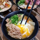 [NEW] This bowl of Tonjiru Onsen Udon 🥘 ($10.20) from Tamoya Udon makes MISO happy!