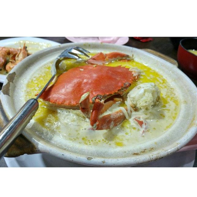 Famous Claypot Crab Beehoon