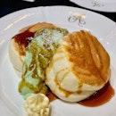 Ondeh Ondeh Soufflé Pancake