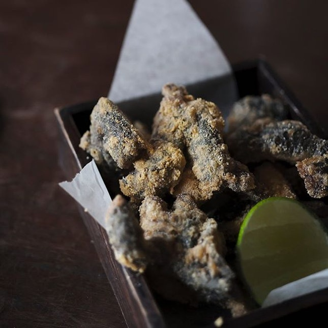 Modern take on a Vietnamese delicacy; the decadent crispy frogs legs takes its place on the @layla.eateryandbar menu as a modern representation of a traditional Vietnamese tapas.