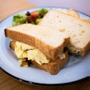 Tamago Sando (egg sandwich) at this joint takes me back to a small Tokyo breakfast joint in Shinjuku-gyomae with fluffy eggs, sweet mayo between breads and gulped down with a nice cuppa.