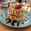 Berries Millefeulle Pancakes And Okinawan Tea
