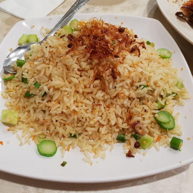 Fisb Roe Fried Rice