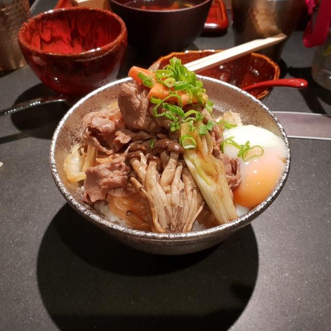 Wagyu Beef Sukiyaki Bowl