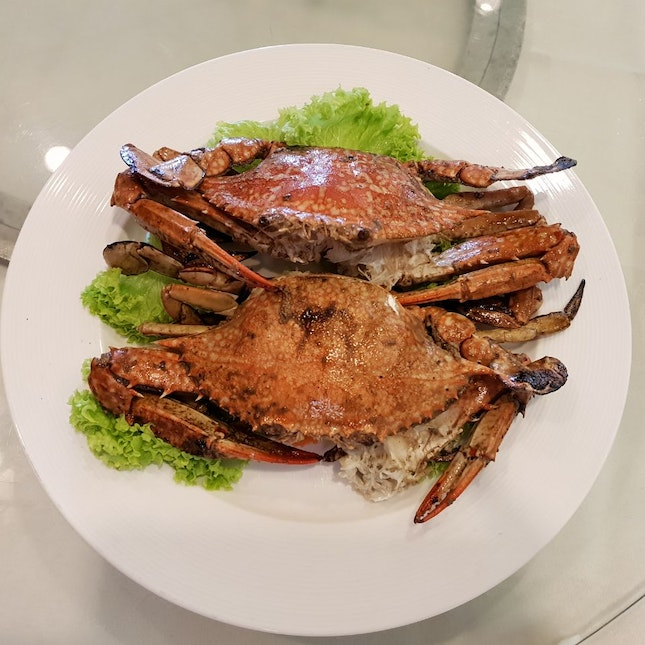 Salted Baked Flower Crabs